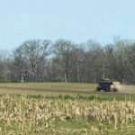 April showers, cold, hold off Ohio grain producers