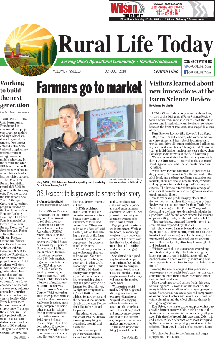 Rural Life Today Central October 2018