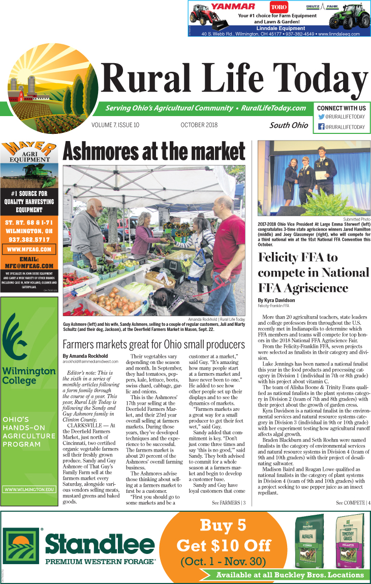 Rural Life Today South October 2018