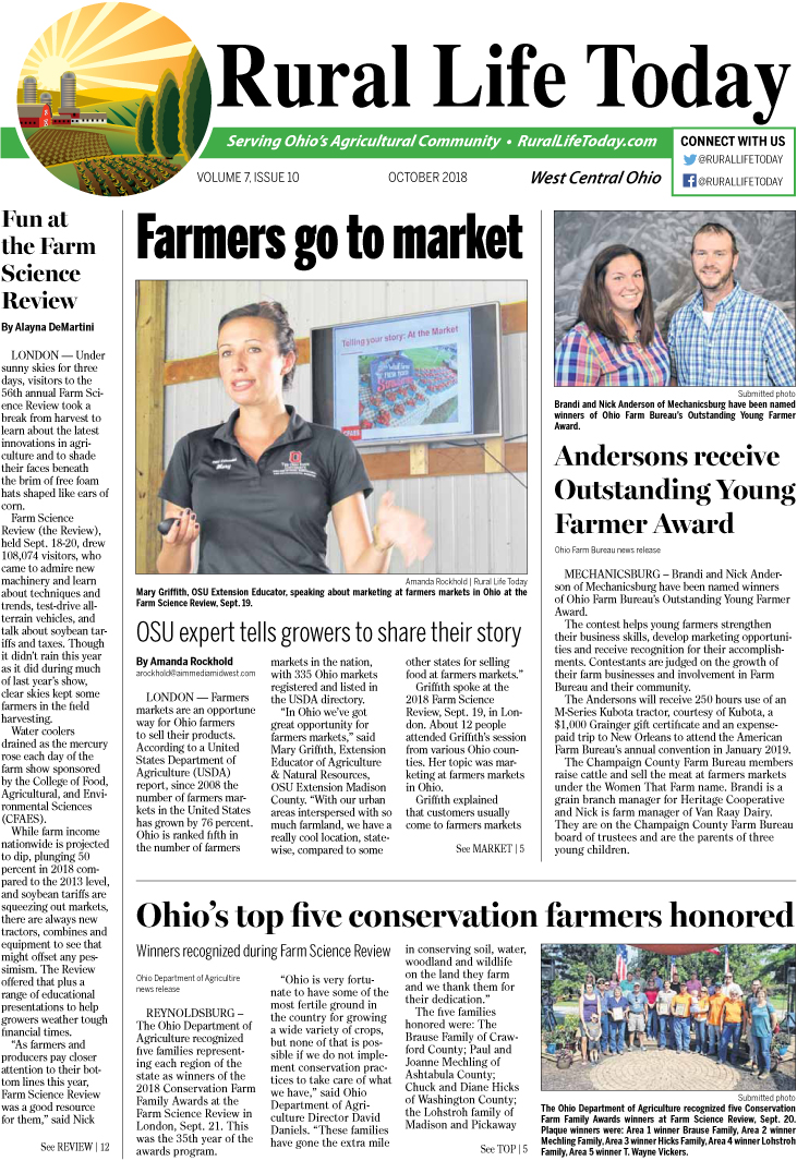 Rural Life Today West Central October 2018