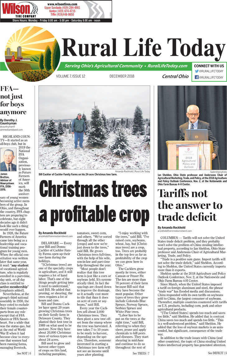 Rural Life Today Central December 2018