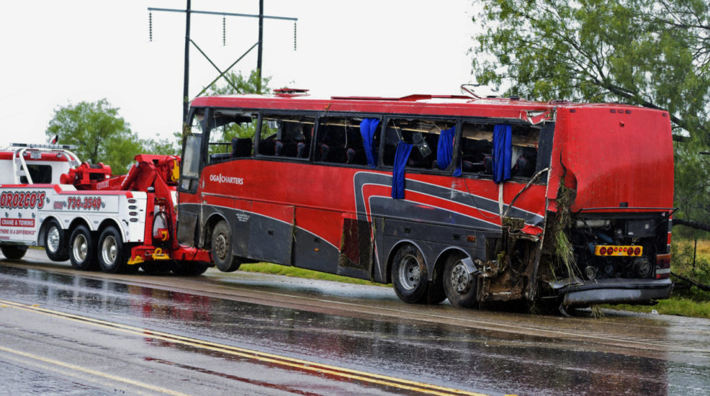 Report Driver Fatigue Contributed To Deadly South Texas Bus Crash The Monitor