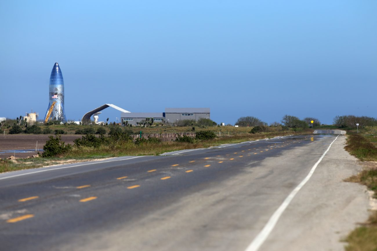 SpaceX rocket now complete at Boca Chica - The Monitor