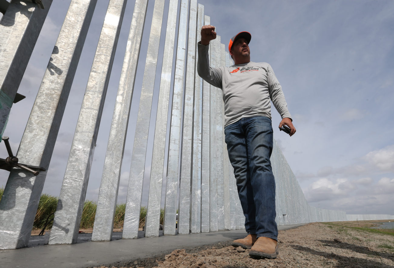 Border wall lawsuits delayed by virus - The Monitor