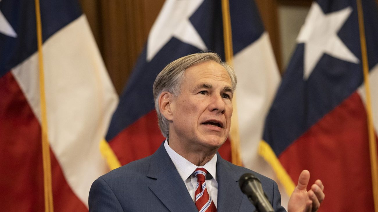 Texas Gov. Abbott Declares State of Disaster Amid Floyd Protests