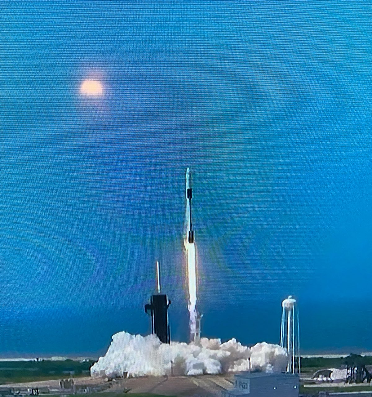 Blast Off: SpaceX rocket heads to space - The Monitor