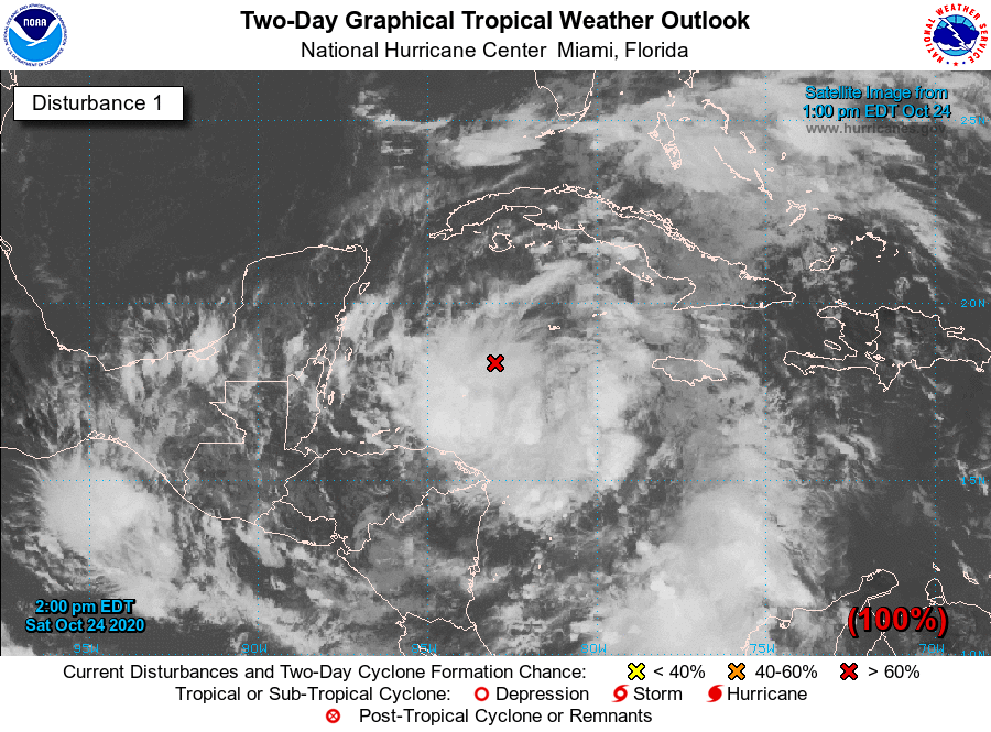 Another Tropical Depression could impact the Gulf of Mexico - The Monitor