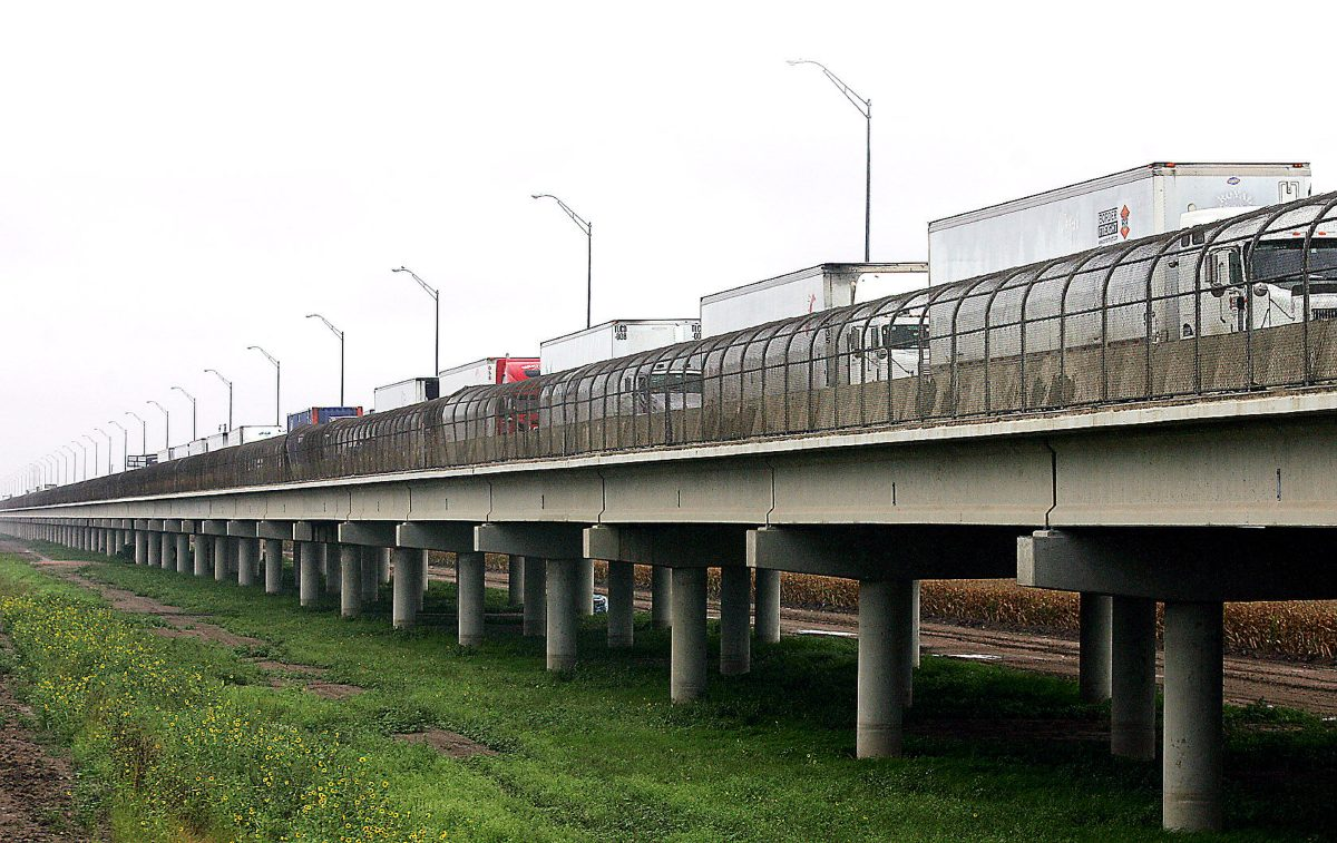 Record southbound truck crossings reported at Pharr bridge