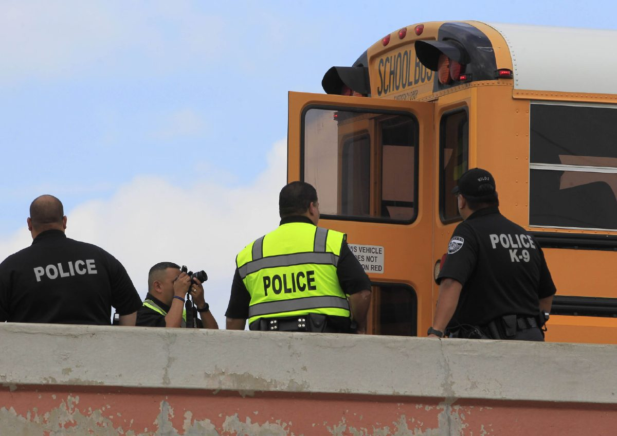 Harlingen student killed in school bus accident enroute to