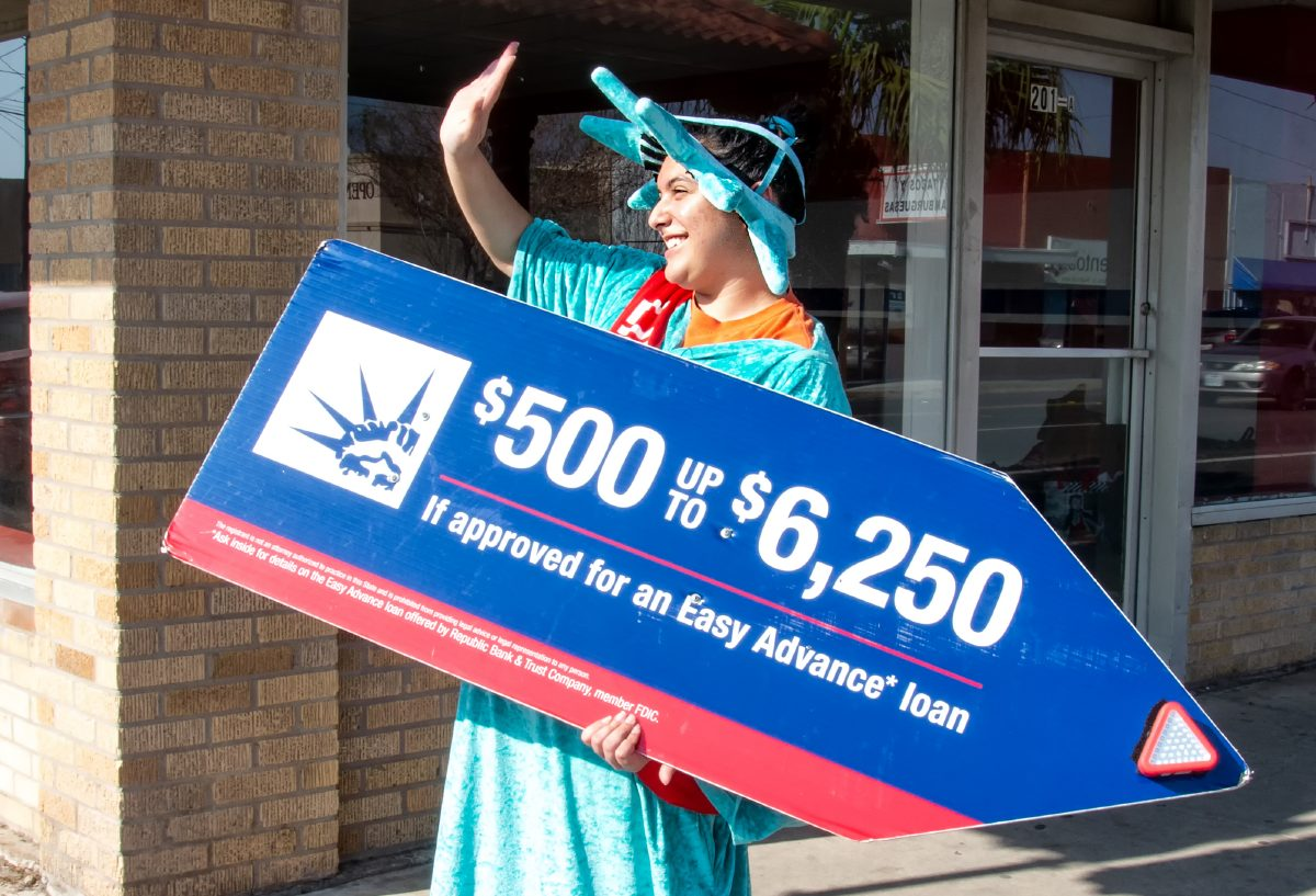 what bank does liberty tax use