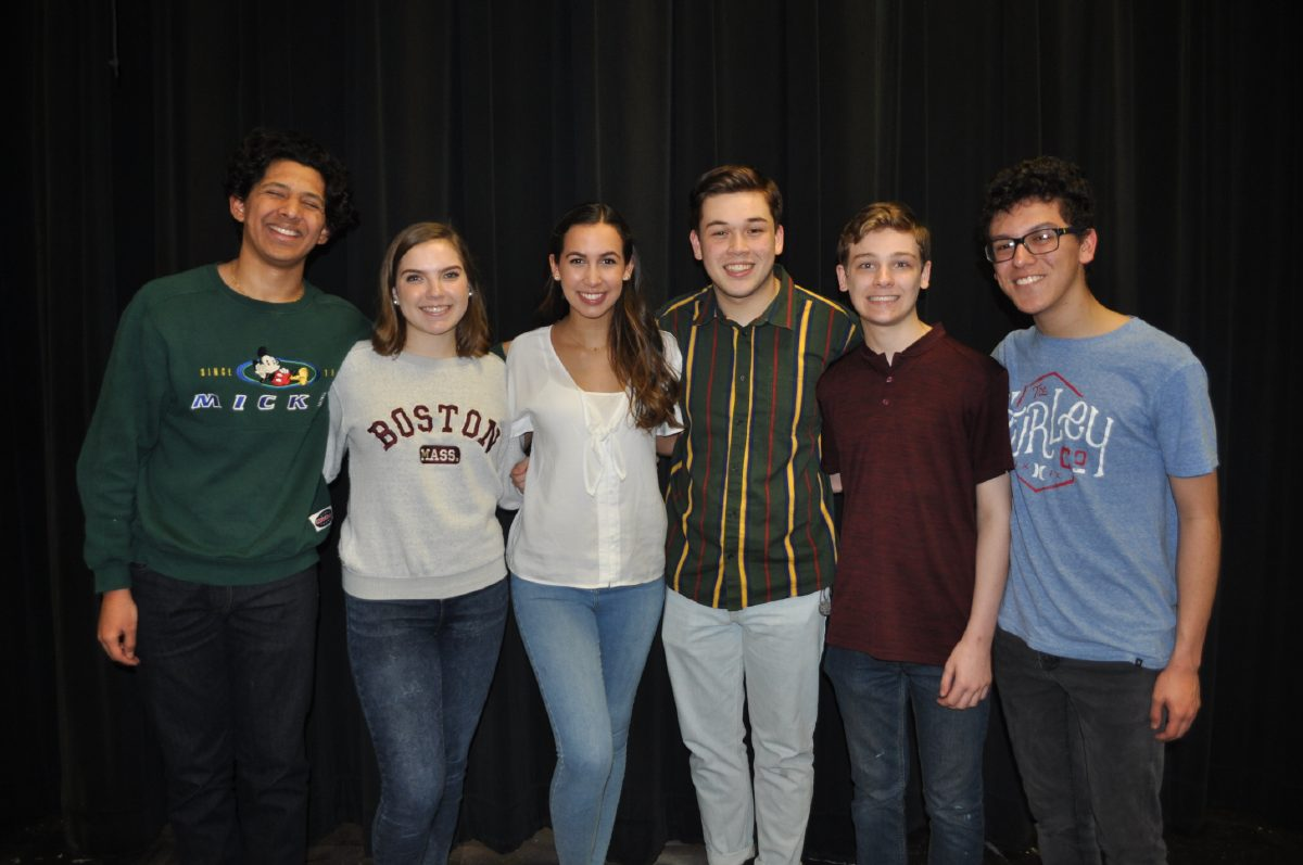 South kids deliver goods with one-act play