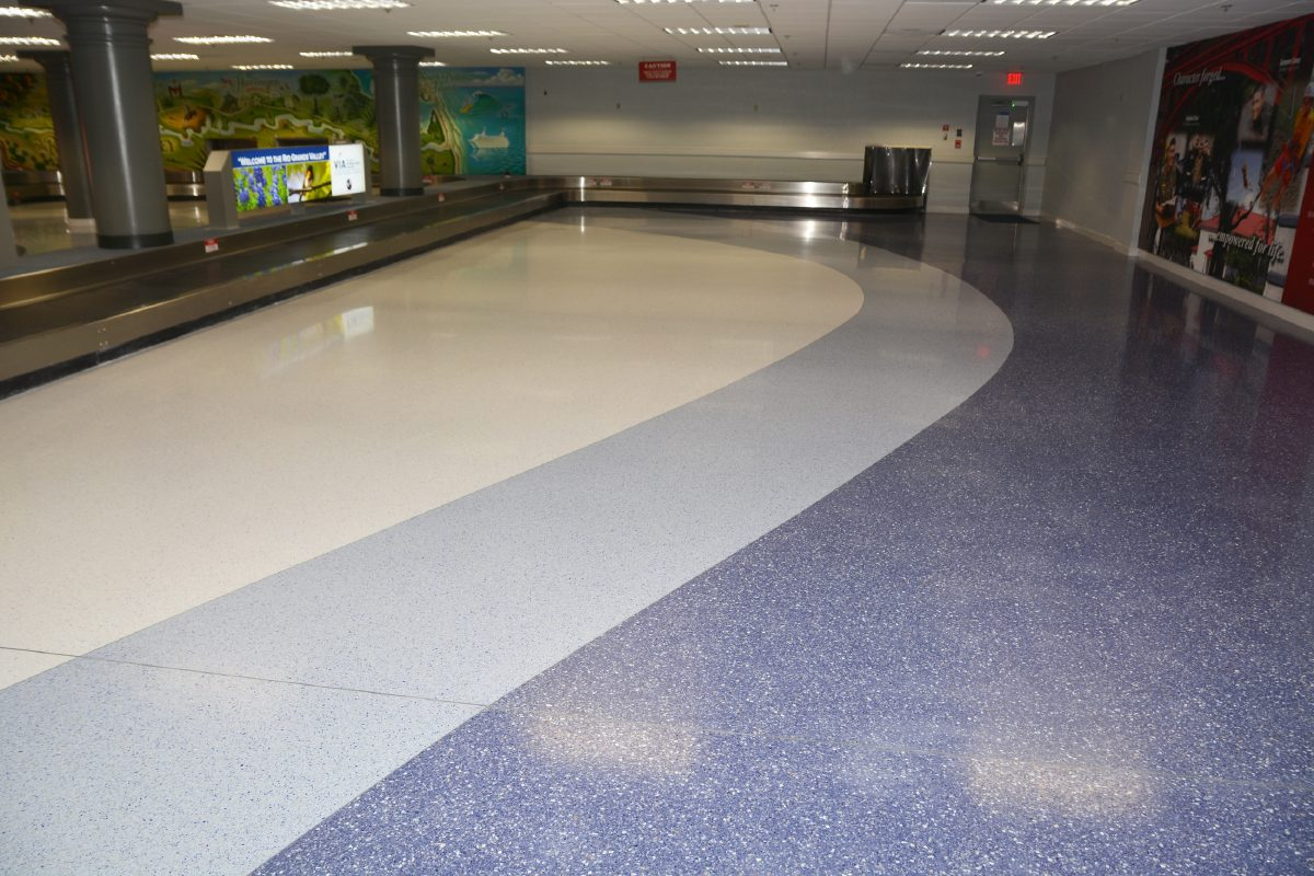 Airport S New Terrazzo Floor Lacks Pizzazz Officials Say