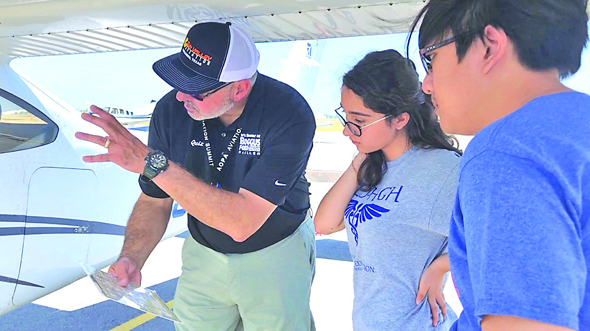 Students take flight through partnership with Sun Valley Aviation