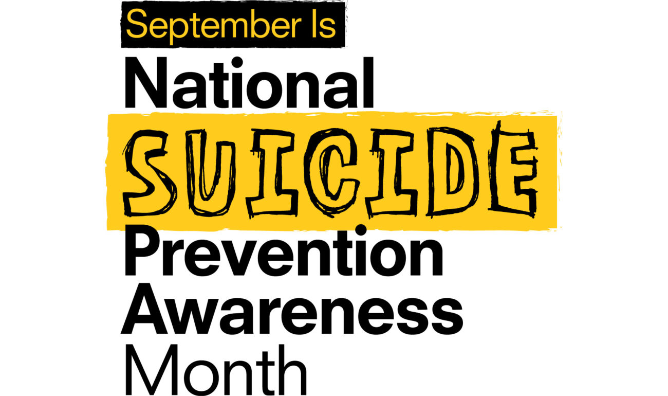 Educating community on warning signs during Suicide Awareness Month