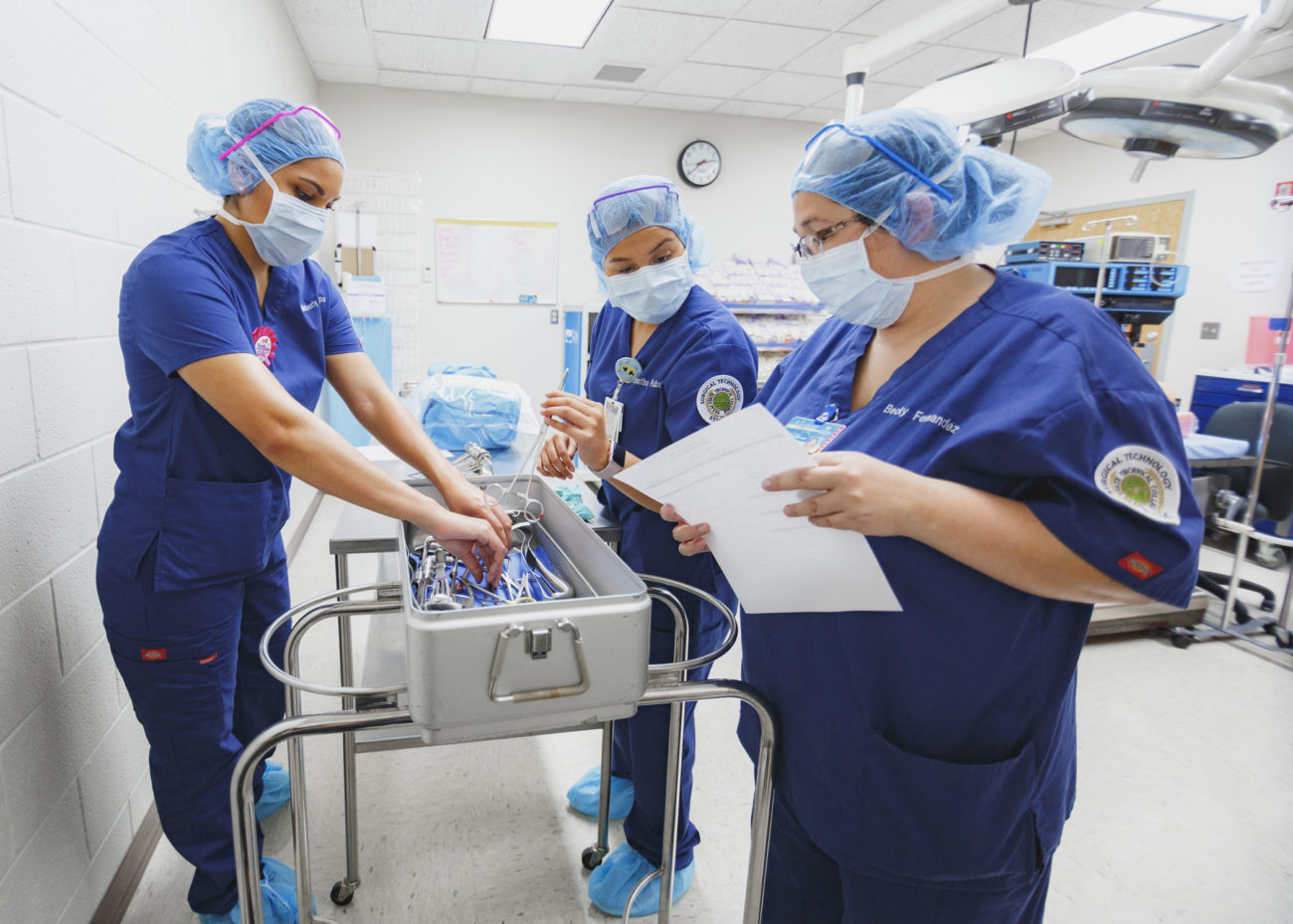Tstc Surgical Technology Shapes Vital Members Of A Surgery Team