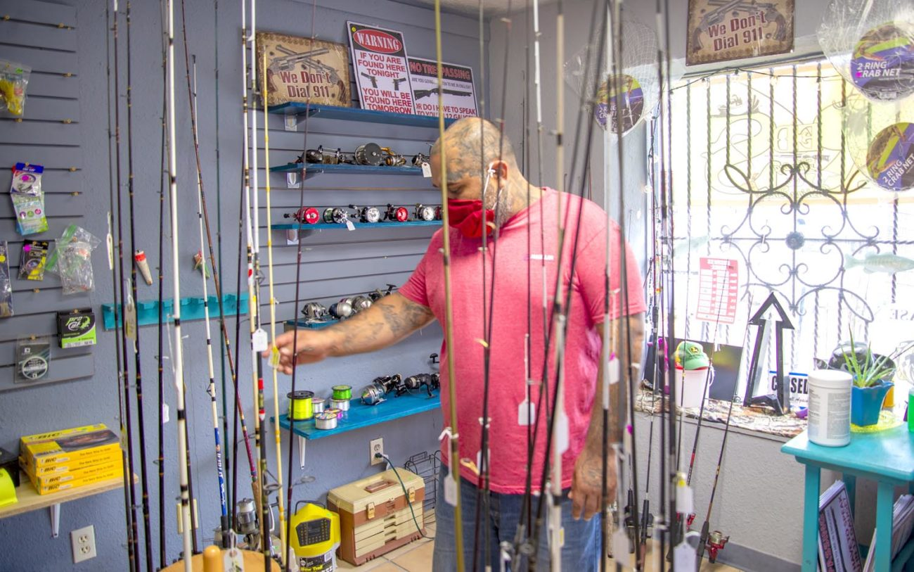 Hook And Reel Sports Shop Downtown Focuses On Used Fishing Gear
